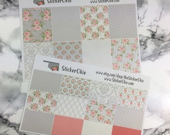 Gray Shabby Chic Mini Kit