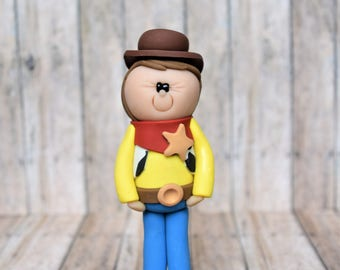 Woody Ornament, Toy Story ornament, Woody Cake Topper, Toy Story Christmas ornament, Toy Story Cake Topper, Woody