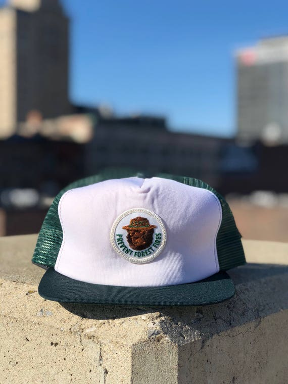 "Smokey the Bear ""Prevent Forest Fires"" New Era Trucker Hat"