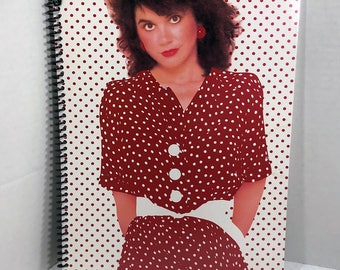 Linda Ronstadt Album Cover Notebook Handmade Spiral Journal