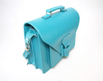 Ladies Bag - Envelope Flap, Turquoise  JW Field Service - Cross Body Shoulder Bag