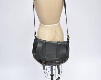 vintage leather bag satchel laptop case briefcase messenger tote cross body custom made