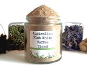 Australian Flat White Coffee Blend Spice Mix Instant Iced & Shake Beverage Foodie Chef Cooking Gift