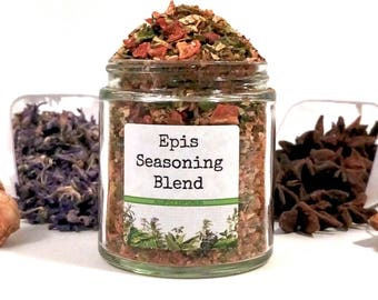 Epis Seasoning Blend Caribbean Haitian Zepis Spice Mix Griot Marinade Foodie Chef Cooking Gift
