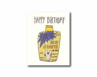Funny birthday card for men, Dad birthday card, Birthday card husband, Fun birthday card