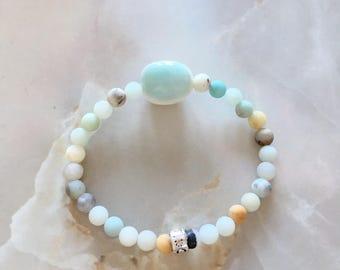 Amazonite Bracelet With Amazonite Stone
