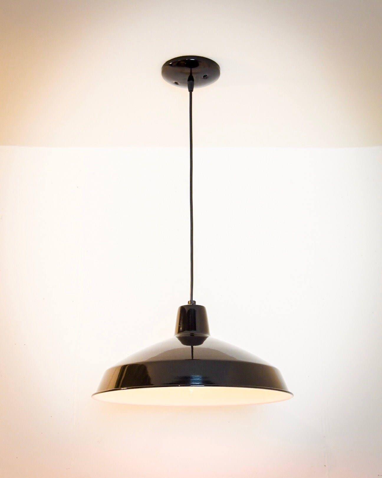 Barn Light Socket: Industrial Pendant