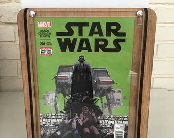 Star Wars 2: Skywalker Strikes, Part 2 Comic Storage Box - Handcrafted comic box and included comic with Free Shipping