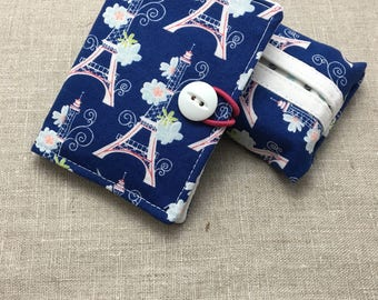 Travel Set - Tea Wallet + Tissue Holder