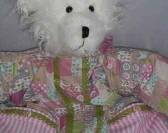 new model of range pajamas, bear and quilt by a world ' bear