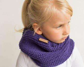 Merino wool knit cowl, tube scarf soft merino wool, knit kids scarf, tubescarf, knit shawl, neckwarmer, knit kids merino