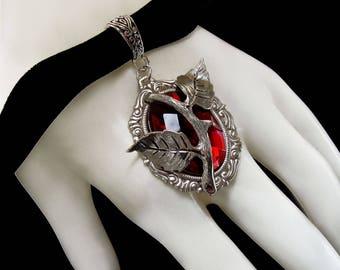 Collier Saint Valentin - Amour - Gothique Romantique - Ras du Cou - Velours Noir - Every Rose Has Its Thorn - Floral