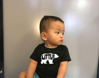 Little Bear shirt, Sister Bear Shirts, Mama Bear, Papa Bear,Baby Bear, Brother Bear, Birthday Bear, Mommy and Me, Family Matching Sets