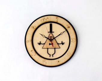 Gravity Falls Wall Clock