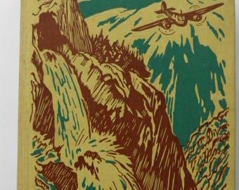 The Valley of Adventure by Enid Blyton ill. Stuart Tresilian 1949