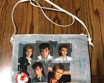 Duran Duran 80s plastic vinyl pocketbook shoulder bag 1984