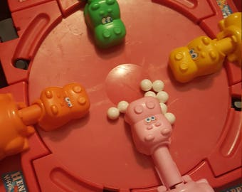 Hungry Hungry Hippos Game- Vintage- 1978 Hasboro