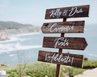 Rustic wedding sign, direction wedding signs, wedding direction signs, wedding arrow signs, wedding signs, wood wedding signs, custom sign