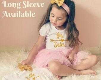 BIG SISTER shirt - promoted to big sister shirt - big sis shirt - little sister shirt - shirt Big Sister Gift Big Sister Little Sister