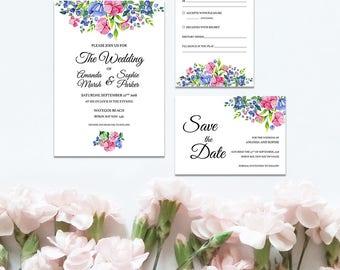 Pretty Petals Wedding Set