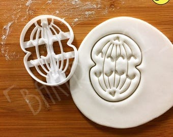 Anaphase cookie cutter | Mitosis biscuit cutters cell cycle Microbiology Microbiologist mitotic laboratory science microorganism chromosome