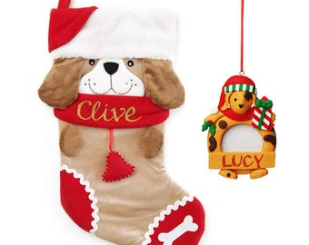Fun Dog Stocking and Frame Pack