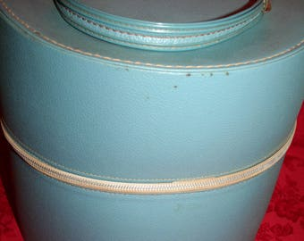 Vintage Double Hatbox by Trevins