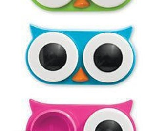 Cute Owl Contact lens case