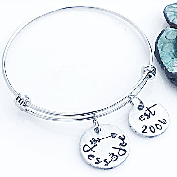 Bracelet For Wife Valentineu0027s Day Bracelet Silver Custom   Valentines  Jewelers Milford Ct