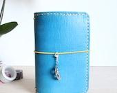 Leather Travelers Notebook  - Custom Made - TN - Stitchdori - Planner - Handmade - Journal Notebook  - Fauxdori - Build Your Own