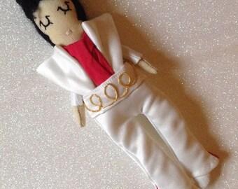 Elvis Doll. Mini Doll. Icon Doll.