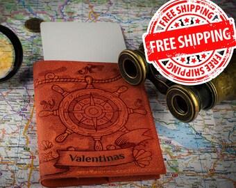 Bridesmaid gift, passport cover, passport holder, passport case, leather personalized passport , passport wallet, passport covers, gift