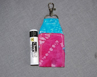 essential oil ~ lipbam fob with swivel hook clasp