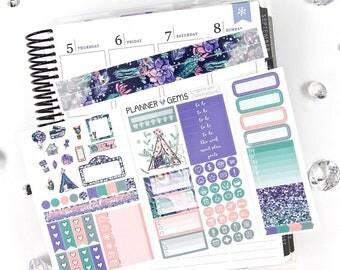 Wild at Heart Pocket TN / Personal Weekly Planner Kit | ~100 Stickers | Planner Stickers | For TN / Personal Planners