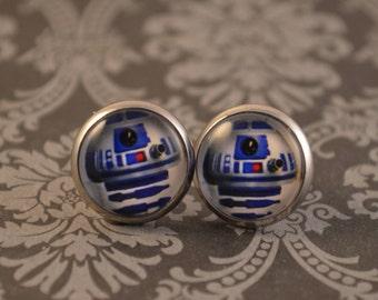 Star Wars R2D2 Earrings