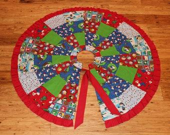 Peanuts Christmas Tree Skirt
