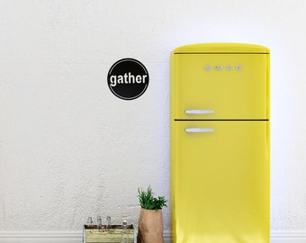 Gather Sign, Kitchen Signs, Kitchen Wall Decor, Dining Room Wall Decor, Metal Signs, Farmhouse Kitchen, Farmhouse Chic, Gifts For Mom