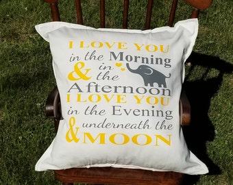 Accent Pillow-Throw Pillow-Nursery Pillow-Shower Gift