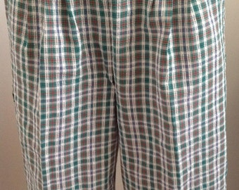 preppy golf culottes 80s