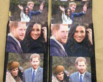Prince Harry and Meghan Markle Engagement Socks