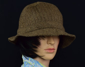 Vintage Totes Fedora Style Hat - Totes Winter Hat - Totes Classic Hat - Made in USA - Size XL