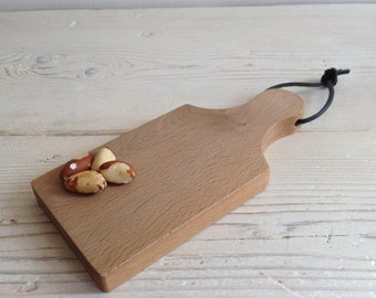 Cutting board, Serving board, wooden chopping board, cheese board, scottish, wood, kitchen, beech, wood, unique, handmade, camping (156)