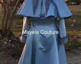 Adult size Inspired by Harry Potter Beauxbaton- Fleur Delacour Dress Costume Cosplay