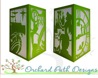 Peter Pan Paper Lantern for Disney themed birthday party, shower, wedding decorations, table centerpieces, decor,