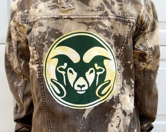 College Jean Jacket (Colorado State University)