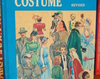 Historic Costumes  Vintage  Lester and Kerr   1967  A resume of style and fashion from remote times to the nineteen sixties