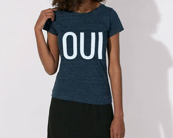 Yes T-shirt - women blue