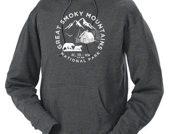 Great Smoky Mountains National Park Adventure Unisex Hoodie