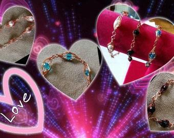 Swarovski bracelet and Special copper