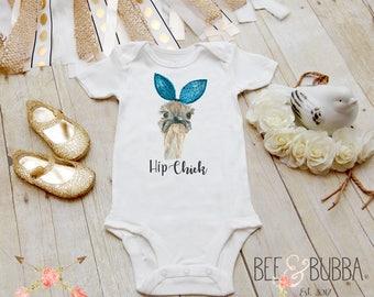 Hip Chick Ostrich Onesie®, Girls Hipster Onesie, Hipster Baby, Cute Baby Clothes, Funny Onesie, Ostrich Shirt, Baby Shower Gift, BeeAndBubba